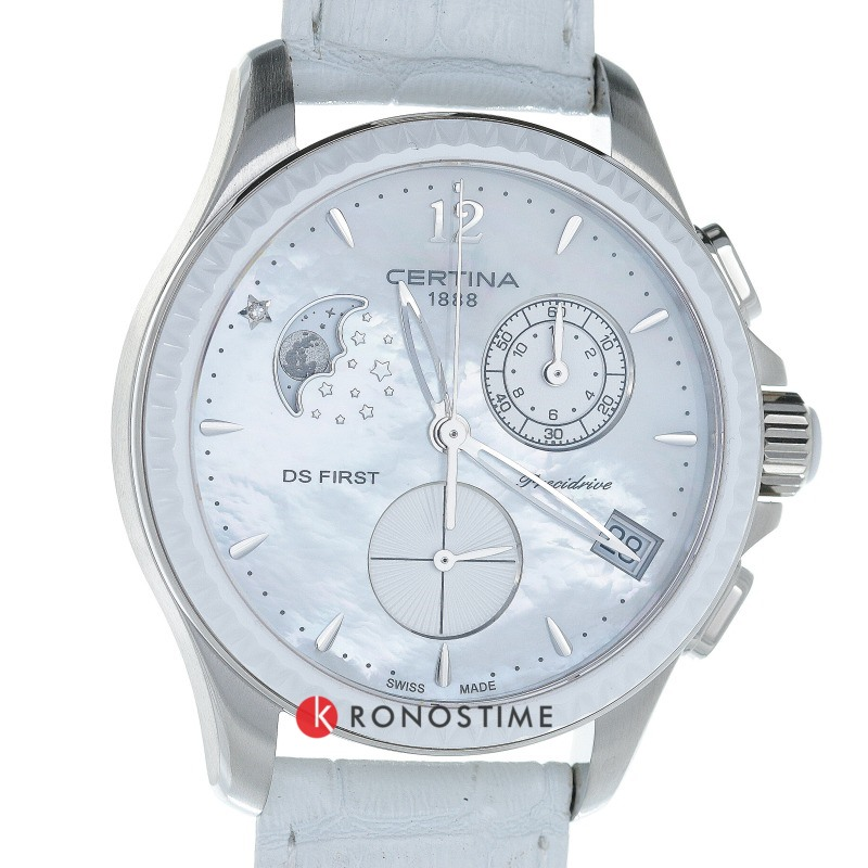 Фотография часов Certina DS First Lady Chronograph Moon Phase C030.250.16.106.00_35