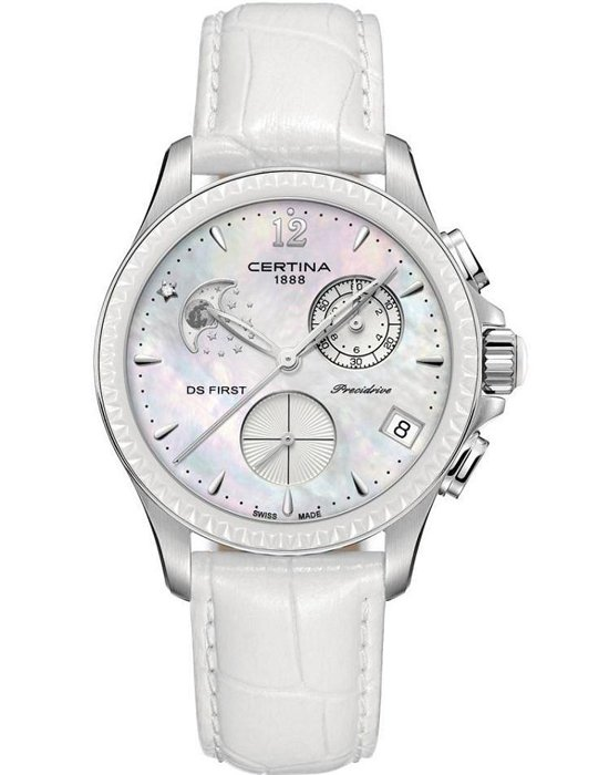 Часы Certina DS First Lady Chronograph Moon Phase C030.250.16.106.00