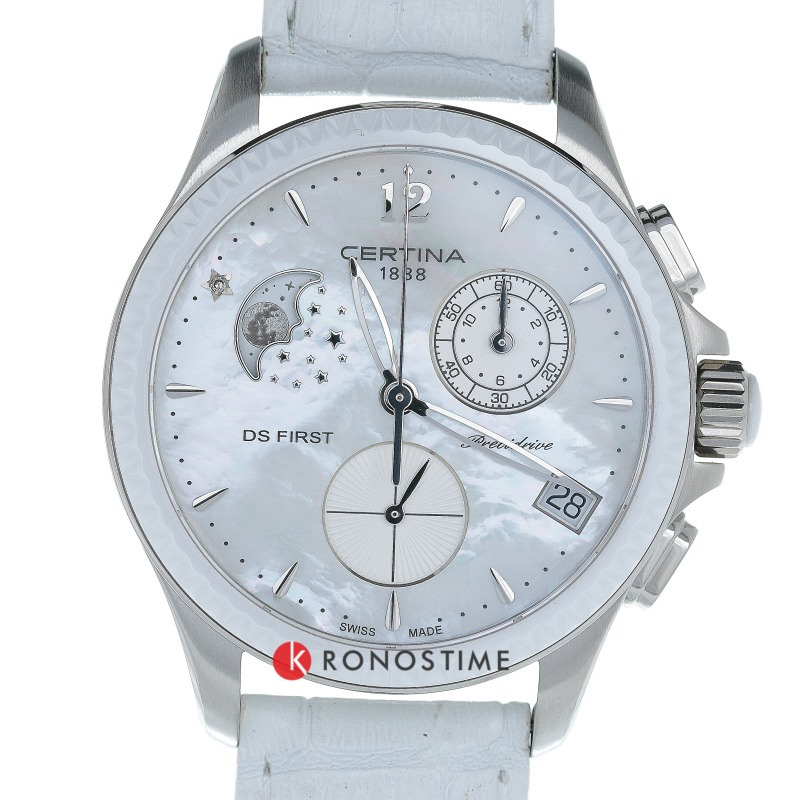 Фотография часов Certina DS First Lady Chronograph Moon Phase C030.250.16.106.00